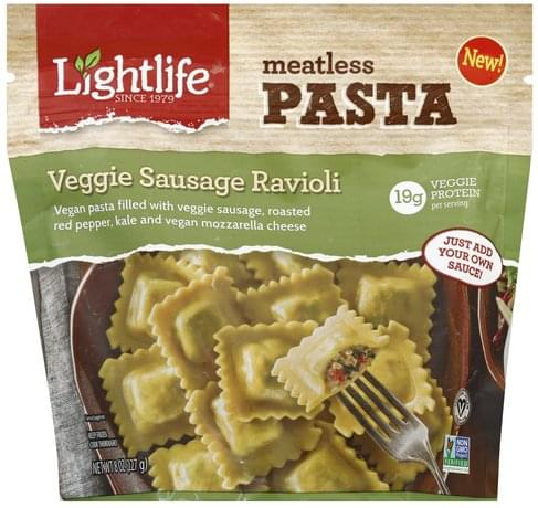 Lightlife Veggie Sausage Ravioli - 8 oz