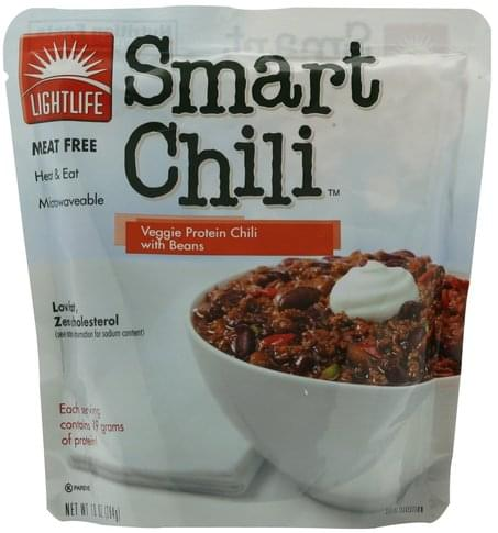 Lightlife with Beans Veggie Protein Chili - 10 oz