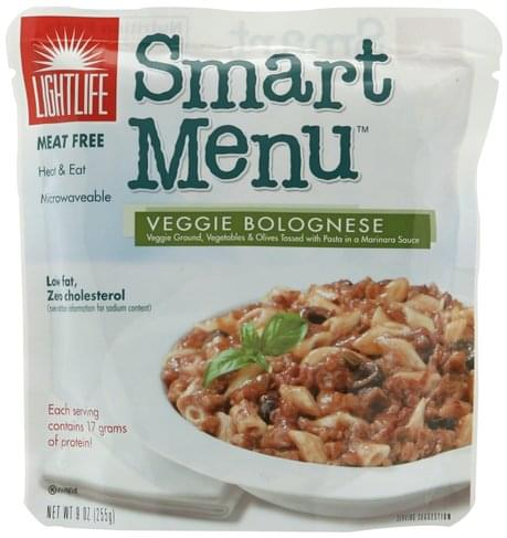Lightlife Veggie Bolognese - 9 oz