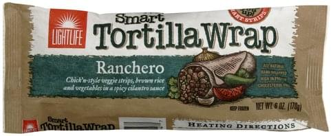 Lightlife Ranchero Tortilla Wrap - 6 oz