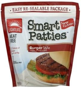 Lightlife Smart Patties Burger Style