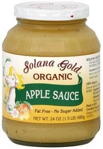 Solana Gold Apple Sauce Organic