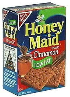 Honey Maid Cinnamon Grahams Low Fat