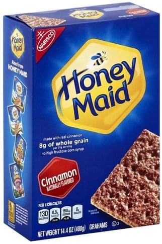 Honey Maid Cinnamon Grahams - 14.4 oz