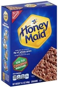 Honey Maid Grahams Low Fat, Cinnamon