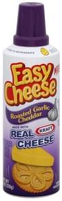 Easy Cheese Cheese Snack Roasted Garlic Cheddar