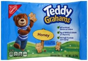 Teddy Grahams Graham Snacks Honey
