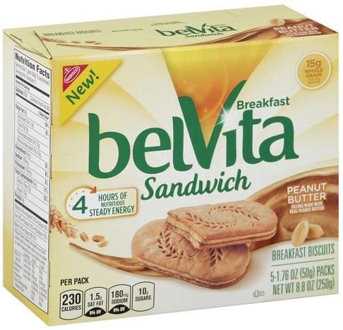 BelVita Peanut Butter Breakfast