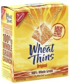 Wheat Thins Crackers Original