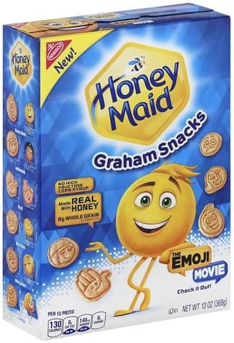 Honey Maid The Emoji Movie Graham Snacks - 13 oz