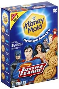 Honey Maid Graham Snacks Justice League