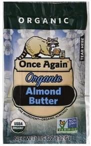 Once Again Almond Butter Organic