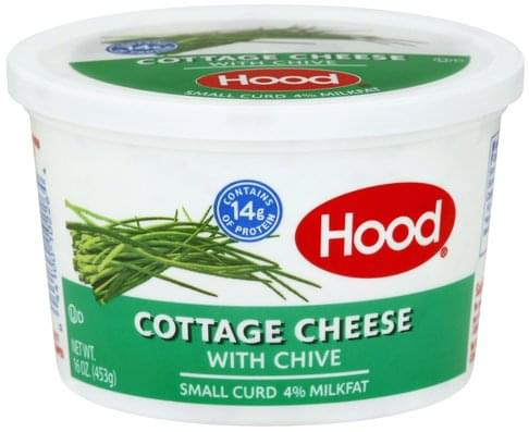 Brilliant Hood Small Curd 4 Milkfat With Chive Cottage Cheese 16 Download Free Architecture Designs Scobabritishbridgeorg