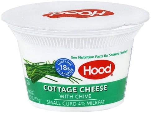 Super Hood Small Curd 4 Milkfat With Chive Cottage Cheese 5 3 Home Interior And Landscaping Palasignezvosmurscom