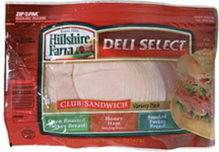 Deli Select Club Sandwich Variety Pack