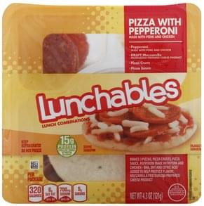 Lunchables Lunch Combinations Pizza with Pepperoni