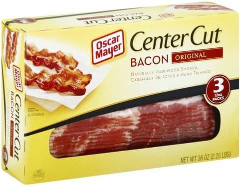 Oscar Mayer Center Cut, Original Bacon
