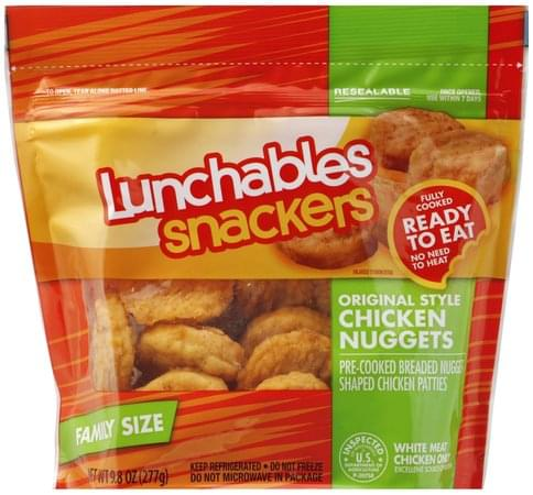 Lunchables Original Style, Family Size Chicken Nuggets - 9.8 oz