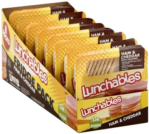 Lunchables Ham & Cheddar with Crackers