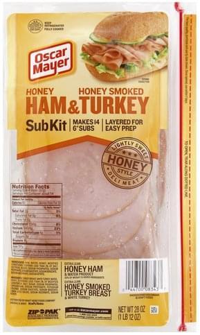 Oscar Mayer Honey Ham & Honey Smoked