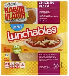 Lunchables Lunch Combinations Chicken Pizza