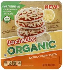 Lunchables Lunch Combinations Extra Cheesy Pizza