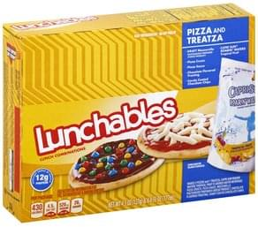 Lunchables Lunch Combinations Pizza and Treatza
