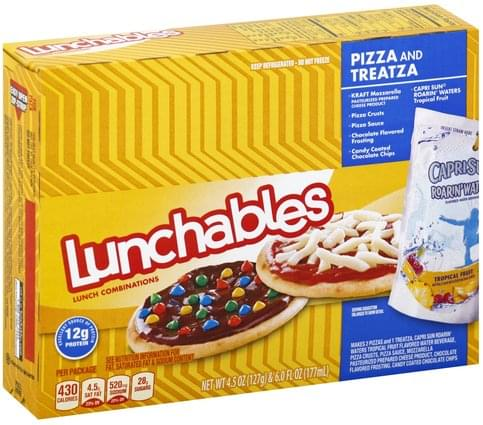 Lunchables Pizza and Treatza Lunch Combinations - 1 ea