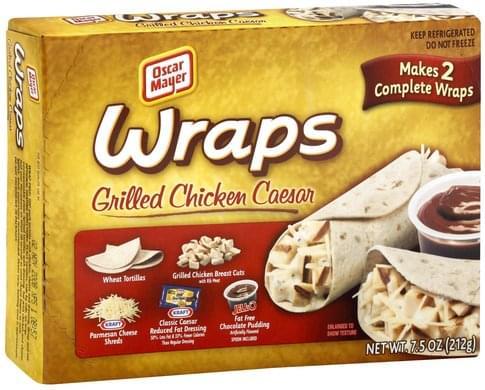 Oscar Mayer Grilled Chicken Caesar Wraps - 1 ea