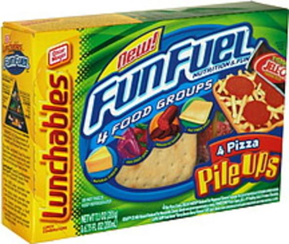 Lunchables 4 Pizza Pile Ups Lunch Combinations - 1 ea