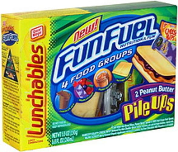 Lunchables 2 Peanut Butter Pile Ups Lunch Combinations - 1 ea