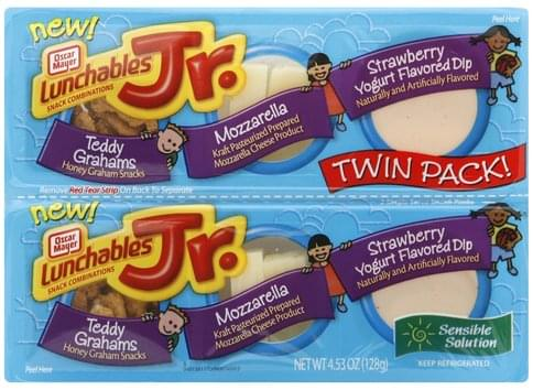 Lunchables Twin Pack Snack Combinations - 4.53 oz