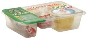 Lunchables Lunch Combinations Cracker Stackers, Ham + American, with Fruit