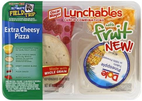 Lunchables Extra Cheesy Pizza - 8.2 oz