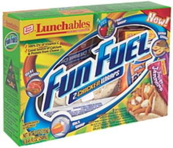 Lunchables Lunch Combinations 2 Chicken Wraps