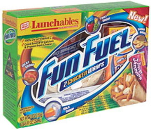 Lunchables 2 Chicken Wraps Lunch Combinations - 1 ea