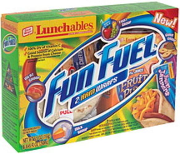 Lunchables 2 Ham Wraps Lunch Combinations - 1 ea
