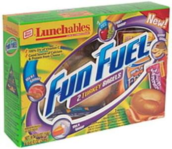 Lunchables Lunch Combinations 2 Turkey Bagels