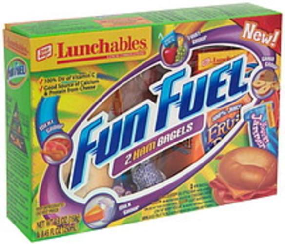 Lunchables 2 Ham Bagels Lunch Combinations - 1 ea