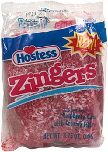 Hostess Raspberry Zingers - 2 ea, Nutrition Information | Innit