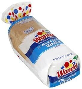 Wonder Bread Whole Grain, White