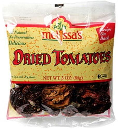 Melissas Dried Tomatoes - 3 oz
