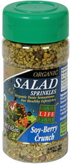 Melissa's Salad Sprinkles Organic, Soy Berry Crunch