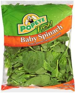Popeye Fresh! Baby Spinach