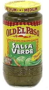 Old El Paso Salsa Verde, Medium