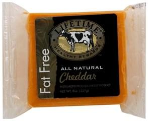 Lifetime Cheese Product Pasteurized Process, Cheddar