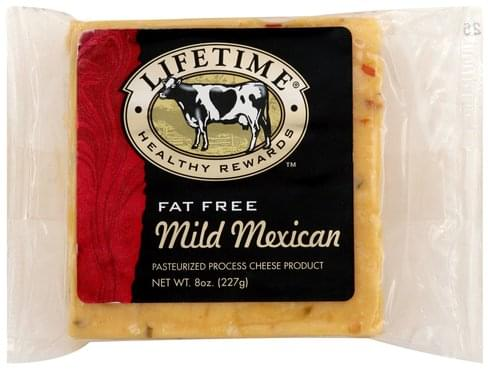 Lifetime Pasteurized Process, Mild Mexican Cheese Product - 8 oz
