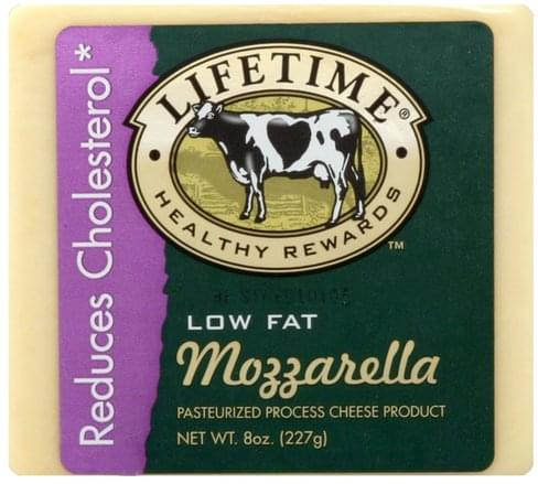 Lifetime Mozzarella, Low Fat Cheese - 8 oz