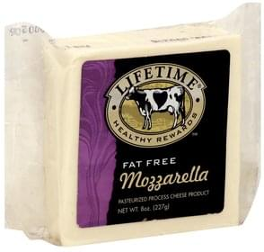 Lifetime Cheese Product Pasteurized Process, Mozzarella