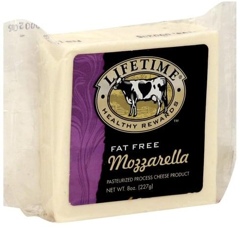 Lifetime Pasteurized Process, Mozzarella Cheese Product - 8 oz
